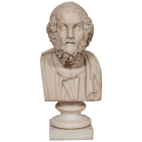 Marble Bust of Homer