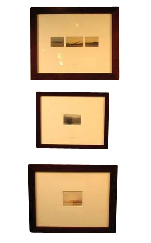 Set of Five Small Watercolors by Georges Ricard-Cordingley (French, Lyon 1873-1939)