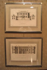 Two English Architectural Engravings