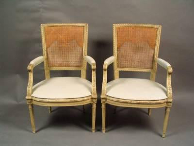 French Settee and Set of Chairs