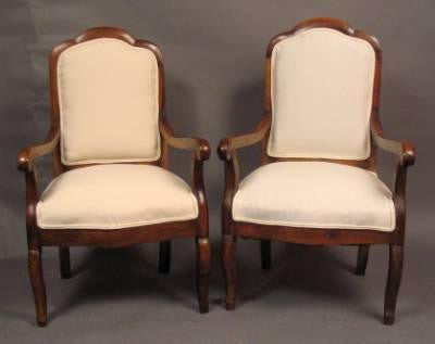 French Pair of Chairs