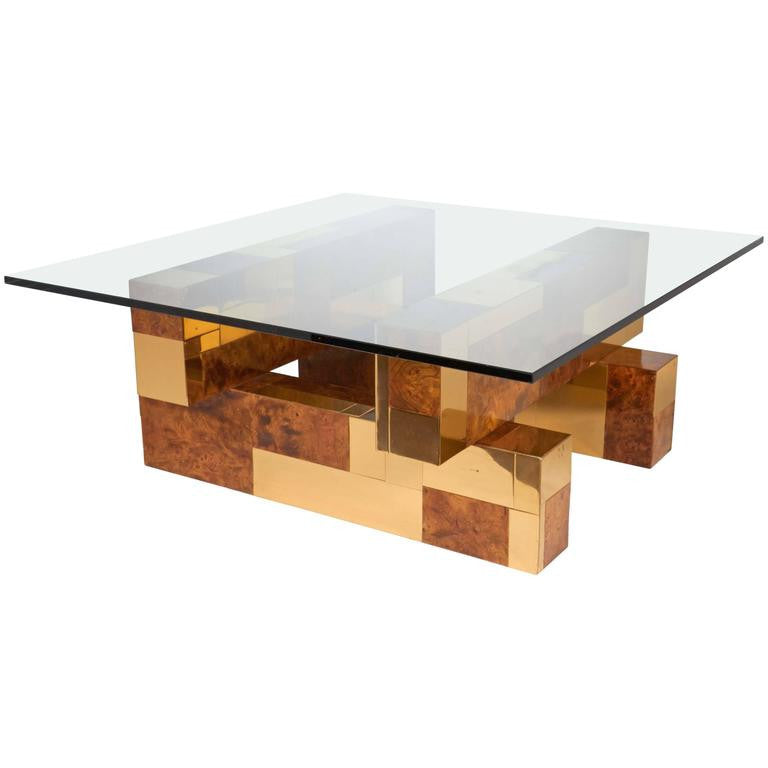 Mid Century Cityscape Coffee Table By Paul Evans