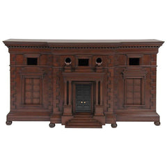 Architecturally Influenced American Credenza