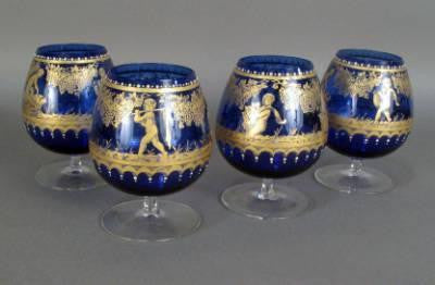 Set of Brandy Glasses