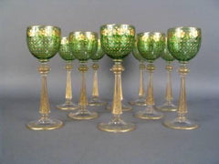 Set of Ten Goblets