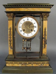 Louis XVI Style Overmantle Clock