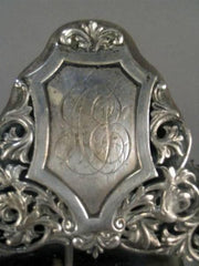 English Sterling Silver Looking Glass