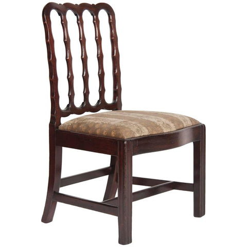 George III Period Chinese Export Padouk Side Chair