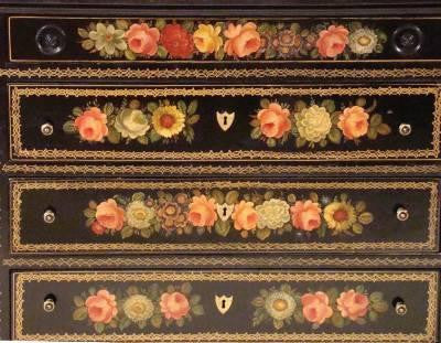 French Lacquer Chest