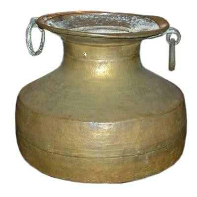 Large Scale Brass Urn