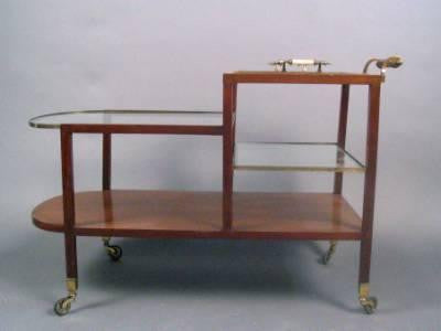 Art Deco Serving Cart
