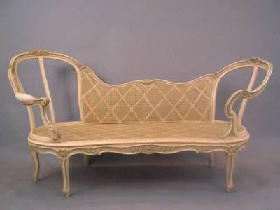 French Painted Settee
