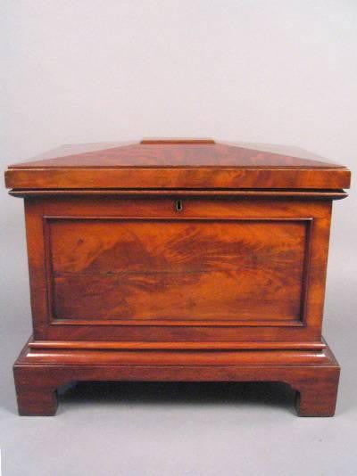 English Mahogany Cellaret
