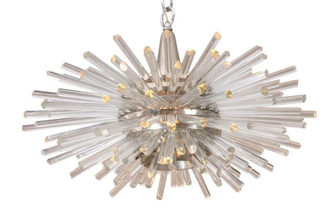 "Bakalowits & Sohne ""Miracle"" Glass Rod Sputnik Chandelier"