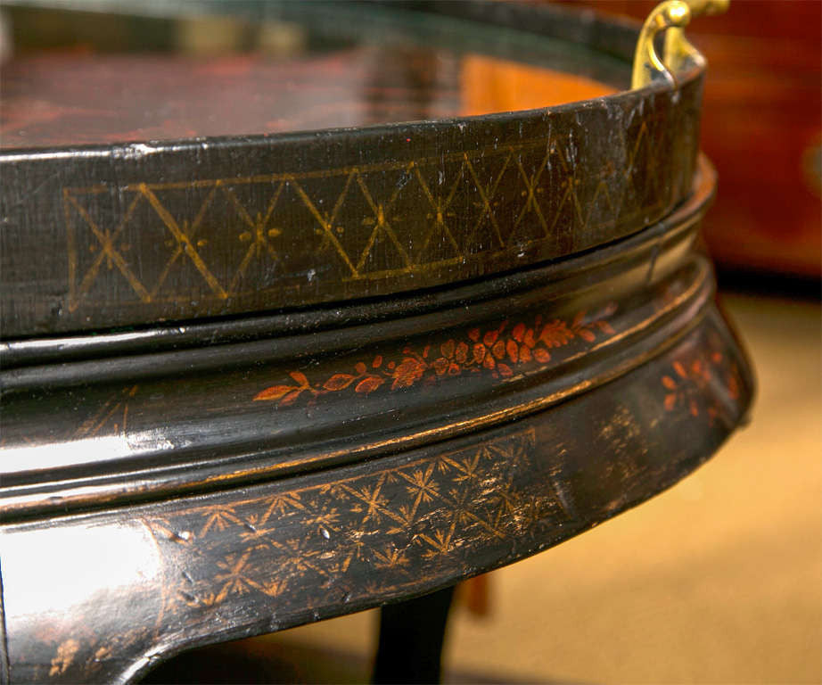 Chinese Lacquer Tray Table