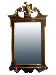 George II Walnut MIrror