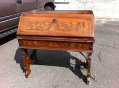 18th C. Italian Walnut Fall Front Desk