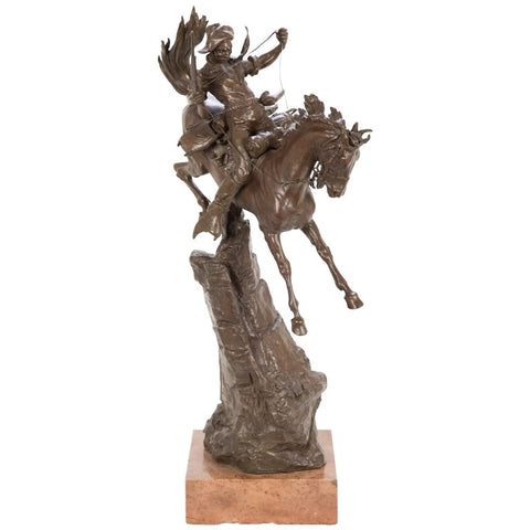 """Scout"" a Signed Bronze by Carl Kauba from his Western American Series"