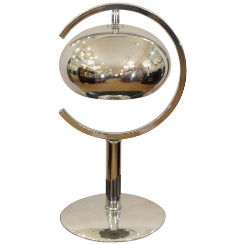 Chrome Saturn Table Lamp