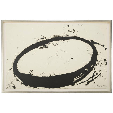 Single Color Etching by Richard Serra Titled L.A.9.8