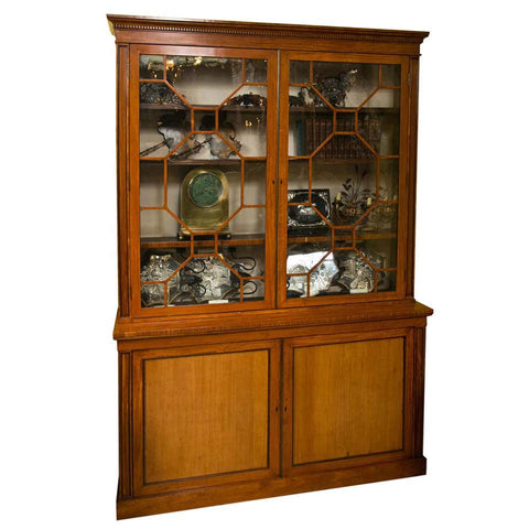 Satinwood Regency Cabinet