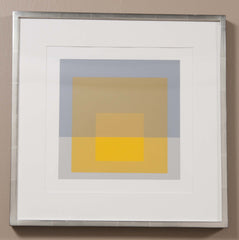 Josef Albers Print from the Series Formulation and Articulation