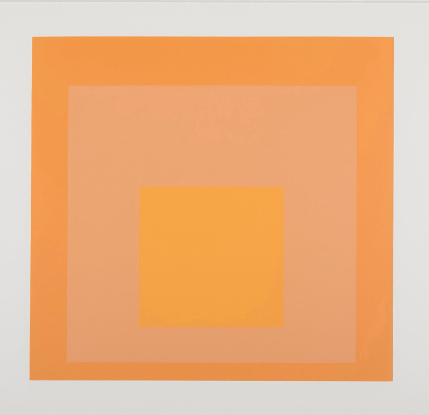 SOLD  9/9/2020   CHAIRISH   Josef Albers Homage to The Square from Formations: Articulation  Folio II Folders 17.