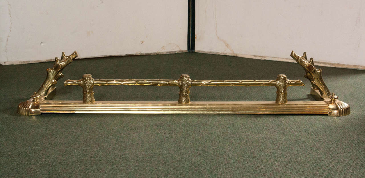 English Brass Fireplace Fender Avery Dash Collections
