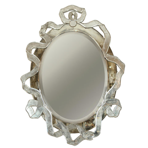 Venetian Multipart Ribbon-Form Mirror