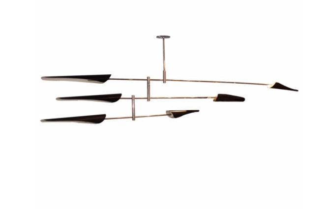 A 'Saru' Mobile 3 chandelier by David Weeks.