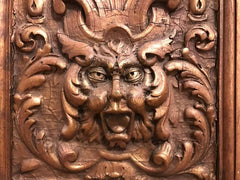 Italian Gilt Gesso Relief of the 'Green Man'