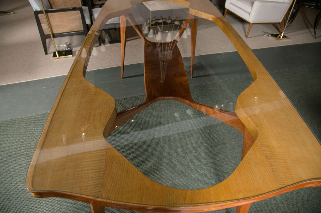 Italian Modernist Table in the Manner of Carlo di Carli