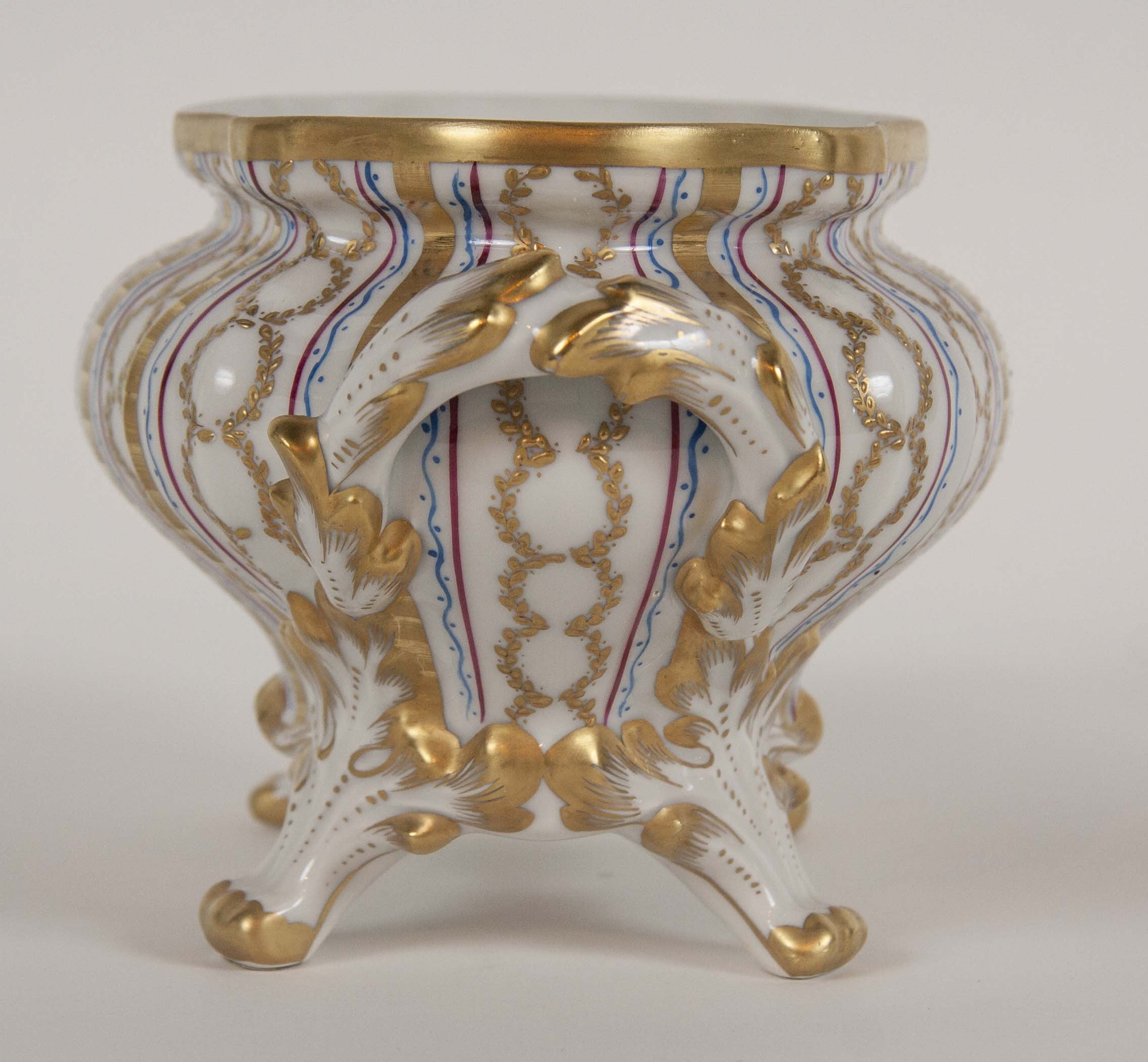 French Tallec for Tiffany Plates & Covered Server