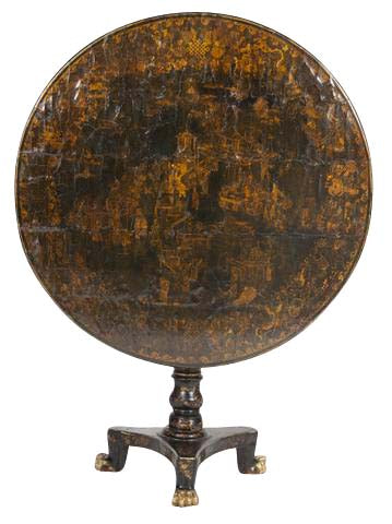 Chinoiserie Tilt Top Table