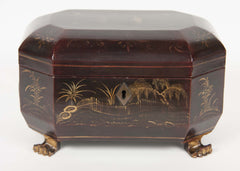 Chinese Export Tea Caddy