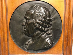 French Portrait Relief by Armand Blanc, Dated 1849