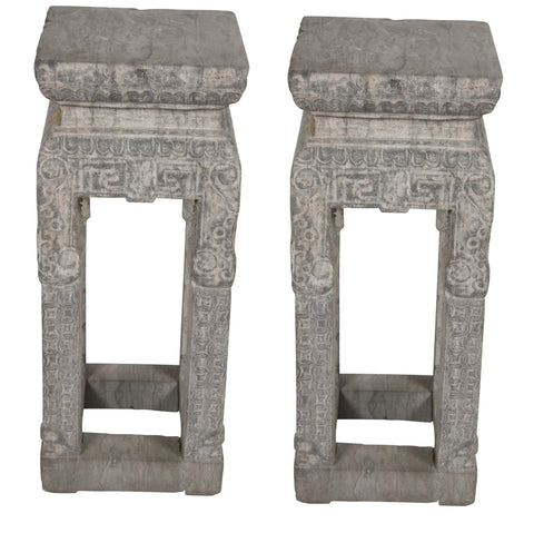 Pair of Chinese Pedestals