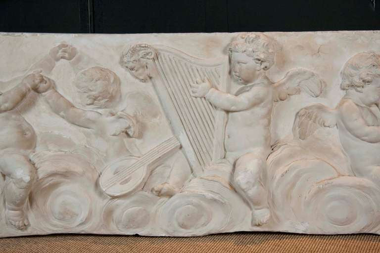 19th Century Plaster Frieze