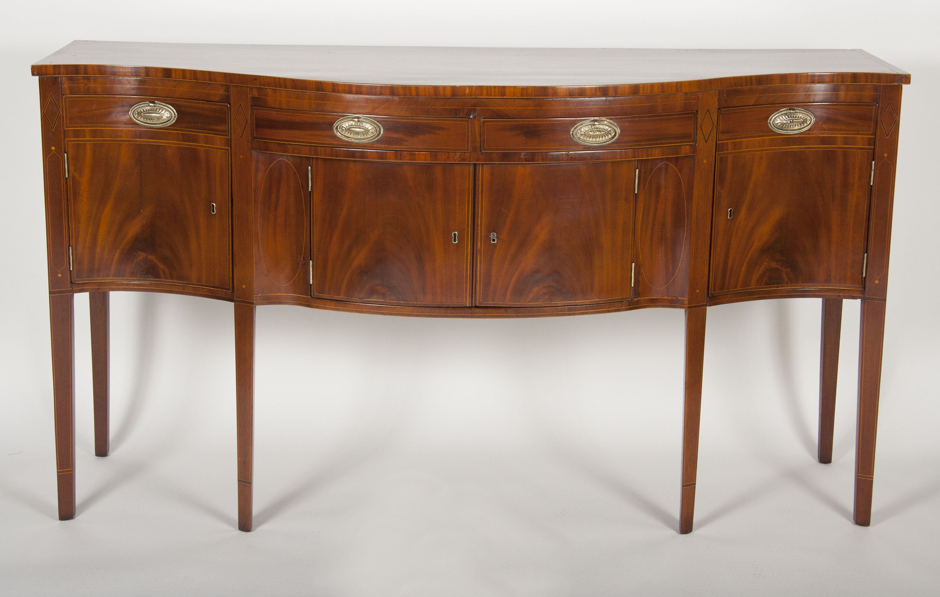 American Hepplewhite Mahogany Sideboard – Avery & Dash Collections