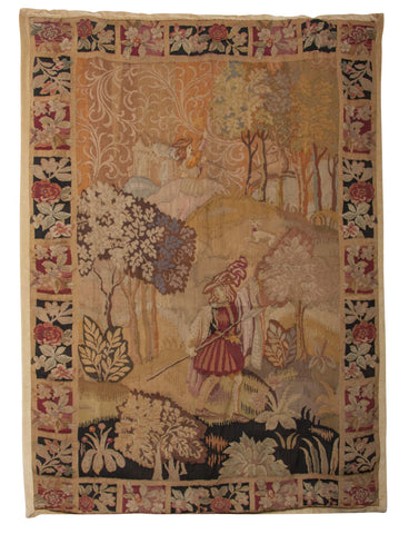 19th Century Woven Tapestry