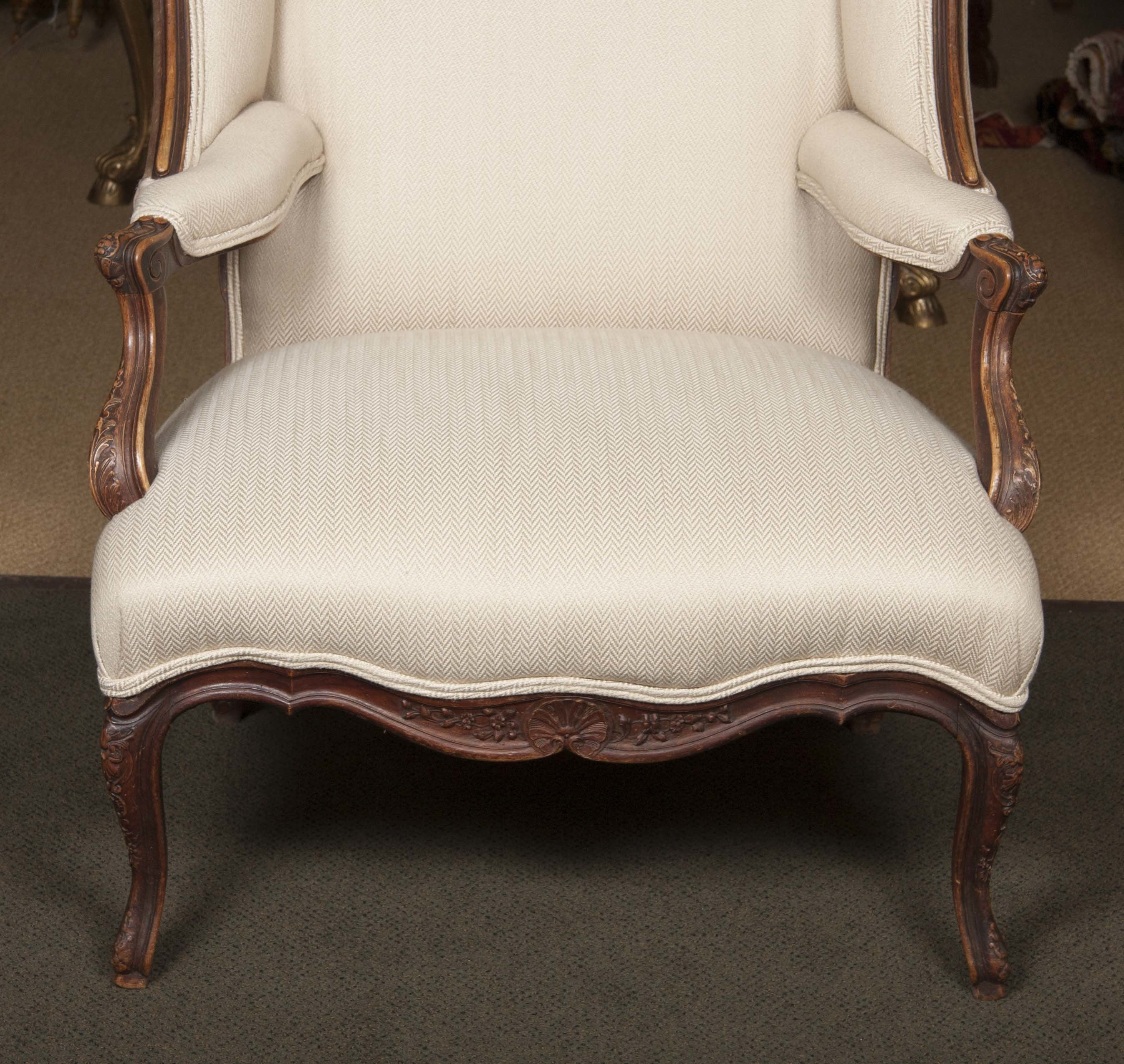 19th Century Wing Chair