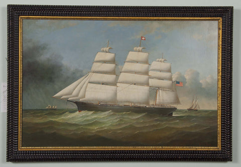 Maritime Painting by Brian Coole