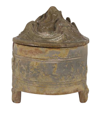 Chinese Pottery Hill Covered Jar