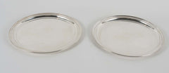 Pair Tiffany and Co Sterling Serving Plates