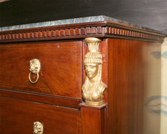 Swedish Mahogany Commode