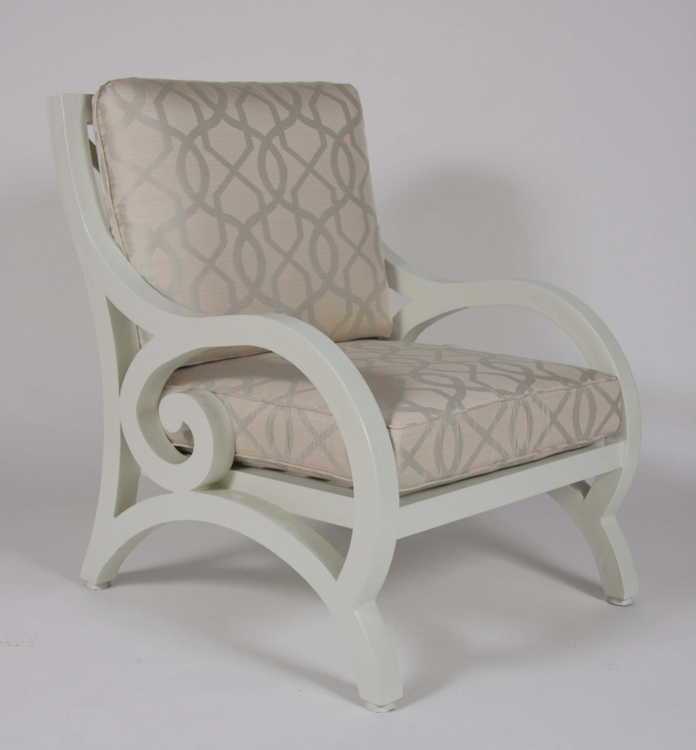 20th Century Aluminum Armchair