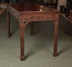 Chinese Chippendale Console Table