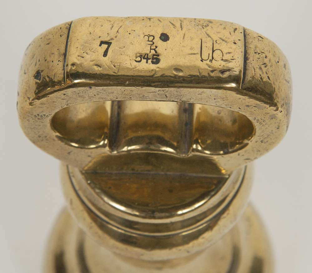 A 19th Century English 7lb Brass Weight