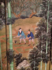 Large Chinese Painted Screen