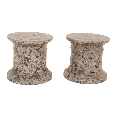 Marble Stands - Pair